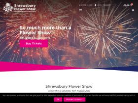 Shrewsbury Flower Show Voucher Code